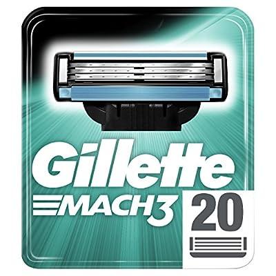 Gillette Mach3 Rasierklingen 20