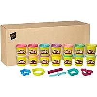 Play-Doh Couleur Pack Brille et Scintille, B6380