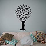 Real Wall Stickers For Kids Rooms Puzzles Tree Wall Vinyl Decal Design Home Decoration Nursery...