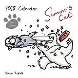 Simon's Cat Kalender 2018, quadratisch, mit Aufklebern
