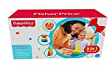 #4: Fisher-Price 3in1 Gift Set with Rock-A-Stack, Wobbly Fun Ball and Stack&Roll Choo Choo