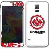 Samsung Galaxy S5 Case Skin Sticker aus Vinyl-Folie Aufkleber Eintracht Frankfurt Fanartikel Fußball
