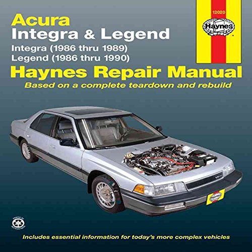 acura-legend-and-integra-automotive-repair-manual-by-ken-freund-published-february-1992