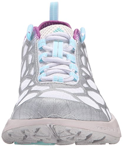 Columbia Megavent Shift, Chaussures de Running Compétition Femme Multicolore - Multicolor (White/Candy Mint)