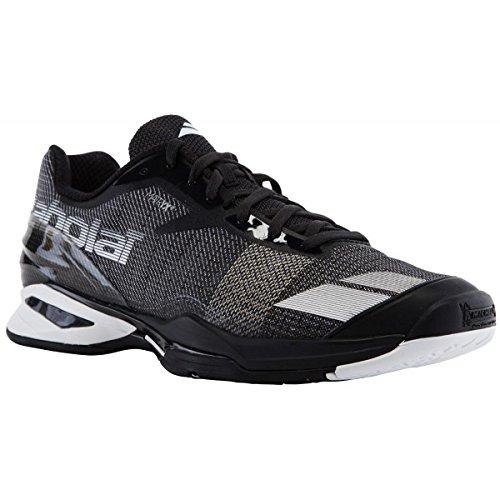 Babolat Herren Jet All Court Tennisschuhe, Herren, Variation, schwarz/weiß, 43
