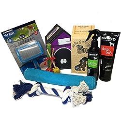 Hund Fellpflege Geschenkkorb