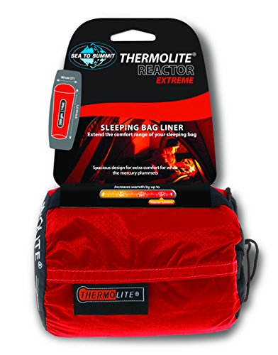 Sea to Summit Unisex Thermolite Reactor Extreme Schlafsack, 90 x 120 cm, Rot, cm