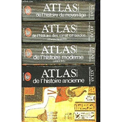 ATLAS COFFRET 4 VOLUMES