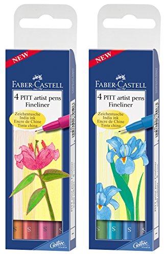 Preisvergleich Produktbild Faber-Castell Tuschestift PITT® Artist Pen (cold + warm colours)