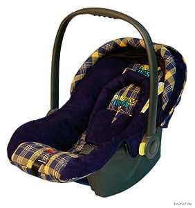 Nest 41170BS099 - Cosy Nest Autokindersitz / Babyschale Gruppe 0+ (bis 13 kg), ab der Geburt bis ca. 15 Monate