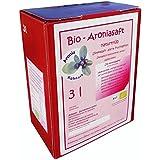 Bio Aroniasaft 3l Box, Original von Aronia Kühnert, 3 Liter Direktsaft, 100% Muttersaft aus vollreifen Beeren