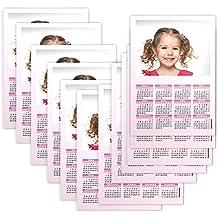 Fotocenter Calendarios Personalizados póster 20 x 30 cm. - Imprime tu Pack DE 12 calendarios idénticos.