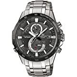 Casio Herren-Armbanduhr Edifice Chronograph Quarz Edelstahl EQW-A1400DB-1AER
