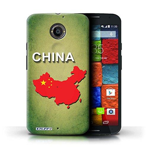 Kobalt® Imprimé Etui / Coque pour Motorola Moto X (2014) / Amérique/Américain/USA conception / Série Drapeau Pays Chine/Chinois