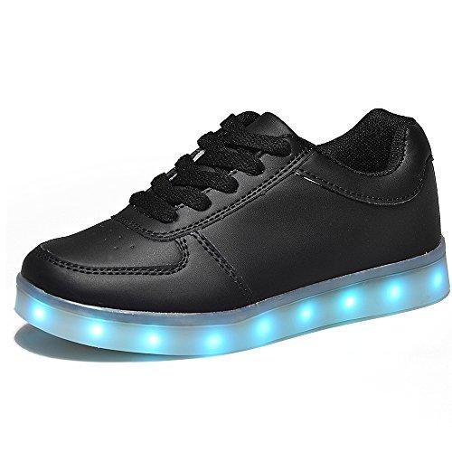 #HUSK'SWARE Unisex Kinder Jungen Mädchen LED Schuhe mit USB Sportschuhe Sneakers#
