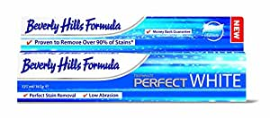 Beverly hills formula perfect white toothpaste 100ml by Beverly Hills Formula