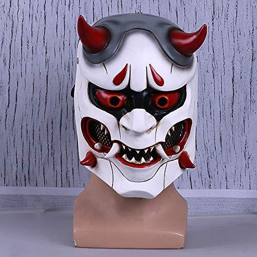 Genji Skin Oni Cosplay Máscaras Japonesa Hannya Demonio