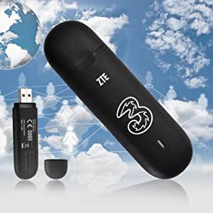 USB Broadband Dongle ZTE MF112 Modem 7.2mbps (various contracts)