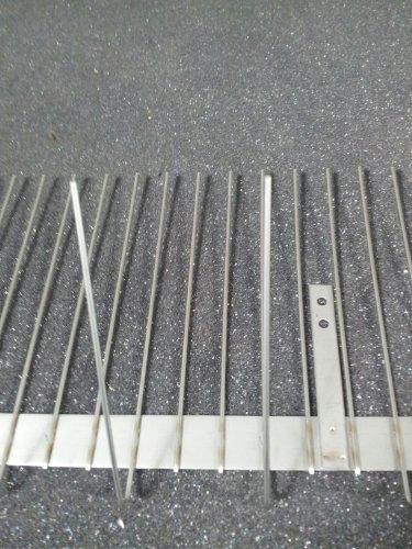 NEU 5 m für Dachrinne Rinne Edelstahl Kleinsvogelabwehr wie Spatz oder Sperling Taubenabwehr Vogelabwehr Taubenspikes NEU