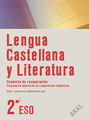Lengua y literatura 2.º ESO. Cuaderno de recuperación (Enseñanza secundaria) - 9788446024682