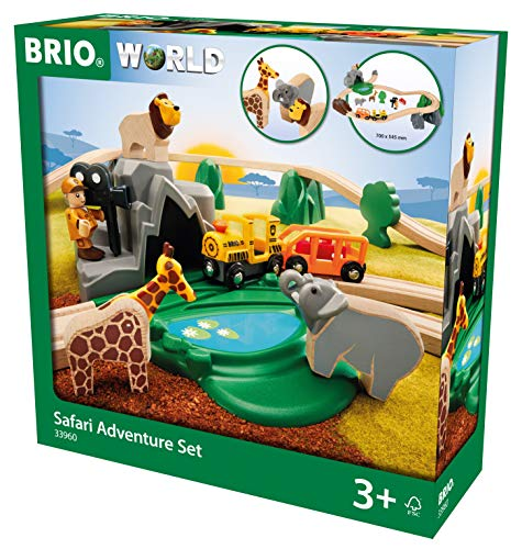 Brio World Circuit Reportage Safari, 33960, Multicolore