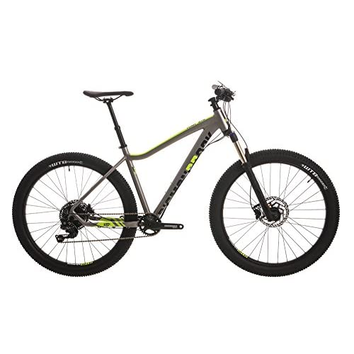 "51O5uFtdKhL. SS500  - Diamondback 2018 Heist 3.0 Hard Tail 27.5"" Wheel Mountain Bike Grey"