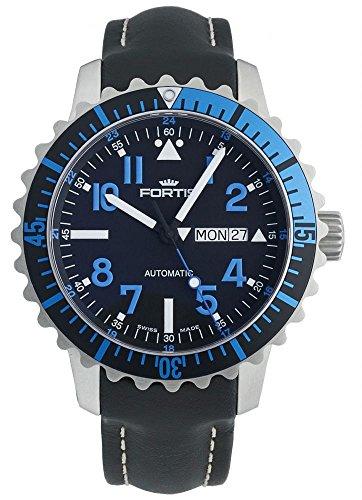 Fortis Reloj los Hombres Marinemaster Blue Automática 670.15.45 LP 01