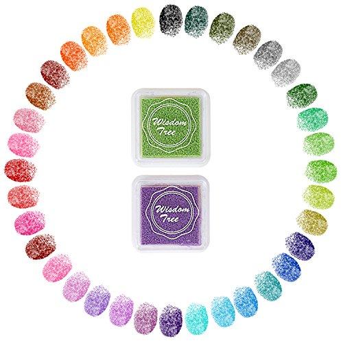 Stempelkissen Set mit 36 Farben