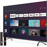 STRONG SRT55UC7433 4K Android, écran 139 cm, Triple Tuners (DVB-T2 HEVC 265/C/S2), 60Hz, HDR10, WCG, Netflix, You Tube, Disne