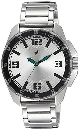 51O5v3UnJ5L - 3084SM01 Fastrack Silver Mens
