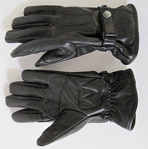 Skorpion Handschuh BOBBER Lederhandschuh Motorrad schwarz Größe L