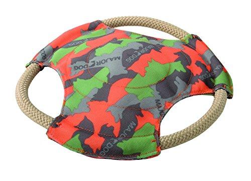 MAJOR DOG Frisbee schwimmfähiges strapazierfähiges Hundespielzeug robust & schadstofffrei TÜV geprüft