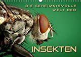 Die geheimnisvolle Welt der Insekten (Wandkalender 2020 DIN A3 quer): Faszinierende Nahaufnahmen von verschiedenen Insekten (Monatskalender, 14 Seiten ) (CALVENDO Tiere) -