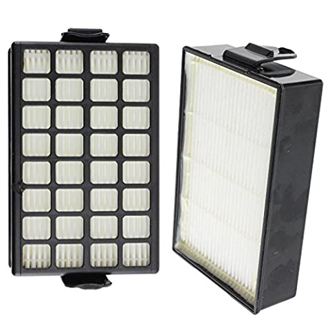 SPARES2GO Type H12 HEPA Filters for Samsung Vacuum Cleaner by Spares2go