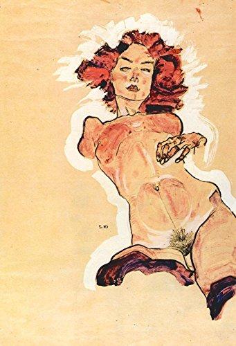 Das Museum Outlet–Female ACT by Egon Schiele–Poster Print Online kaufen (101,6x 127cm)
