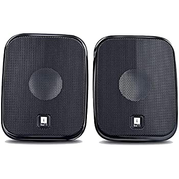 iBall Decor 9-2.0 USB Powered Computer Multimedia Speakers with in-line Volume Controller, Black