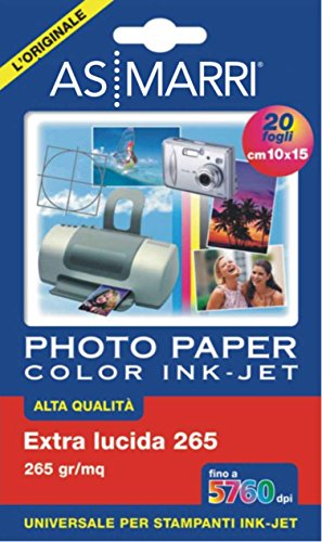 AS MARRI 8870 Premium Photo Paper 20 A6 10 x 15 cm (A6) Fotopapier