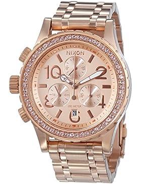 Nixon Damen-Armbanduhr 38-20 Chrono Chronograph Quarz Edelstahl A404897-00