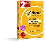 Norton Antivirus Basic | 1 Appareil | 2 ans | PC | Téléchargement