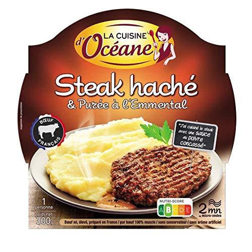 La Cuisine D'Océane - Charolais Minced Beef & Emmental Puree - Steak Haché Charolais & Purée À...