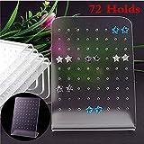 Cupcinu 36Paar Ohrringe Display Ständer Rack Tablett Ohrring Holder Organizer Jewelry Styling Ständer