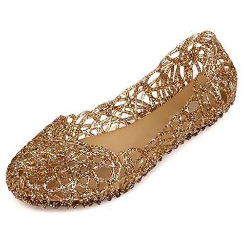 VEIIYOUNG Mujer Verano Transpirable Zapatos Gelatina