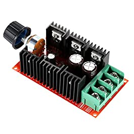 KKmoon 10-50V/40A/2000W DC Regolatore di Velocità del Motore PWM HHO RC Controllore 12V 24V 36V 40V 50V Regolatore di…