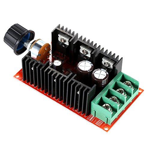 KKmoon Einstellbar 10-50V/40A/2000W DC Motor Speed Control PWM HHO RC Controller 12V 24V 36V 40V 50V Geschwindigkeit Einsteller (Dc-motoren Arbeiten)