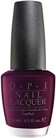 OPI Nail Lacquer, Black Cherry Chutney, 15 ml