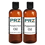 PRZ Combo of Pumpkin Seed Carrier oil & Peppermint Oil (Each 50ml )