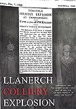 Llanerch Colliery Explosion