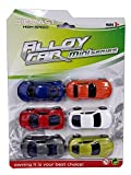 #6: Sajani Sports Metal Car,Die-Cast Pull Back Action Car (Set of 6 Cars) for Kids.