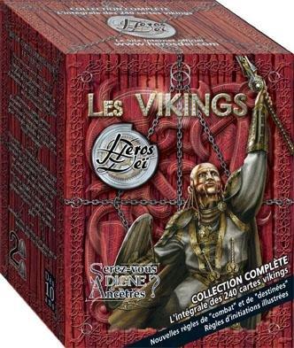 Fournier Cartes - Heros Dei : Les Vikings Collection Complète