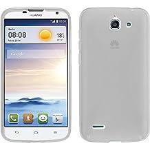 Funda de silicona para Huawei Ascend G730 - X-Style transparente - Cover PhoneNatic Cubierta + protector de pantalla